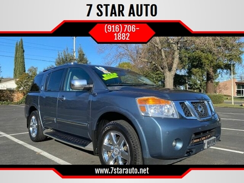 2010 Nissan Armada for sale at 7 STAR AUTO in Sacramento CA