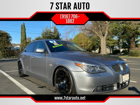 2007 BMW 5 Series for sale at 7 STAR AUTO in Sacramento CA