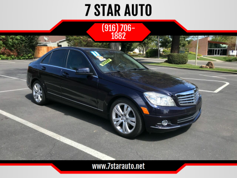 2011 Mercedes-Benz C-Class for sale at 7 STAR AUTO in Sacramento CA