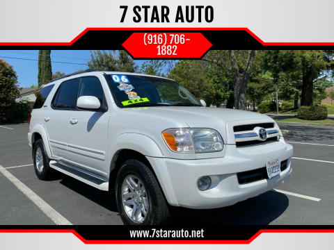 2006 Toyota Sequoia for sale at 7 STAR AUTO in Sacramento CA
