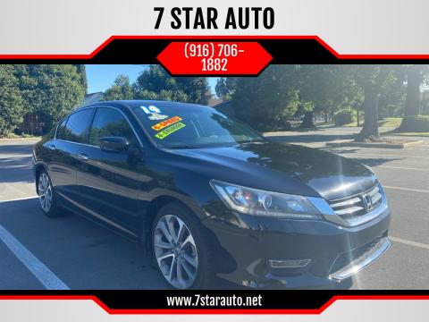 2014 Honda Accord for sale at 7 STAR AUTO in Sacramento CA
