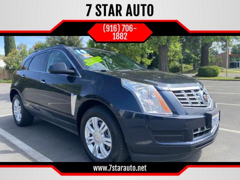 2014 Cadillac SRX for sale at 7 STAR AUTO in Sacramento CA
