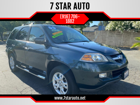2005 Acura MDX for sale at 7 STAR AUTO in Sacramento CA