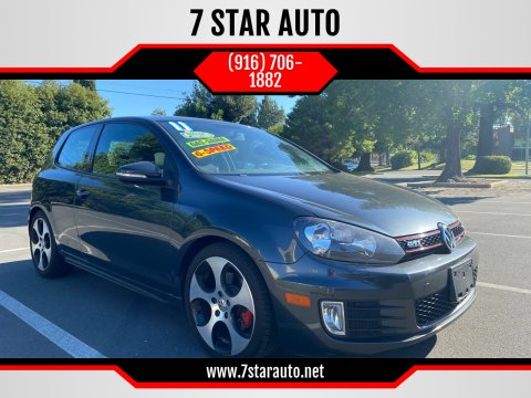 2011 Volkswagen GTI for sale at 7 STAR AUTO in Sacramento CA
