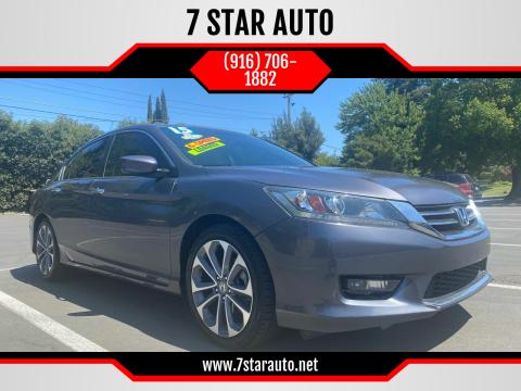 2015 Honda Accord for sale at 7 STAR AUTO in Sacramento CA