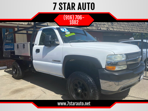 2002 Chevrolet Silverado 2500HD for sale at 7 STAR AUTO in Sacramento CA