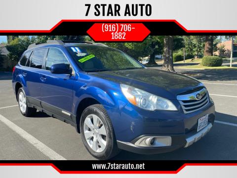 2011 Subaru Outback for sale at 7 STAR AUTO in Sacramento CA