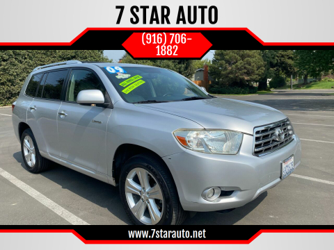 2009 Toyota Highlander for sale at 7 STAR AUTO in Sacramento CA