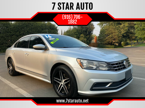 2016 Volkswagen Passat for sale at 7 STAR AUTO in Sacramento CA