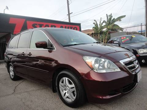 2007 Honda Odyssey for sale at 7 STAR AUTO in Sacramento CA