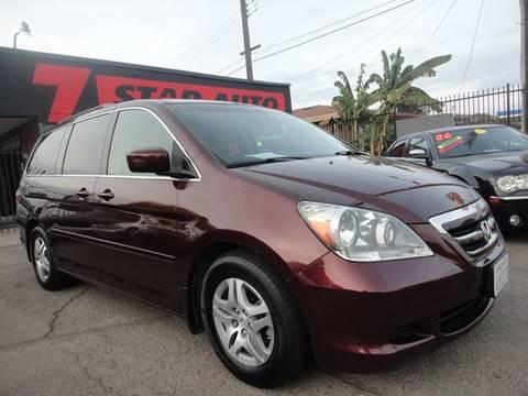 2007 Honda Odyssey for sale at 7 STAR AUTO in Sacramento CA