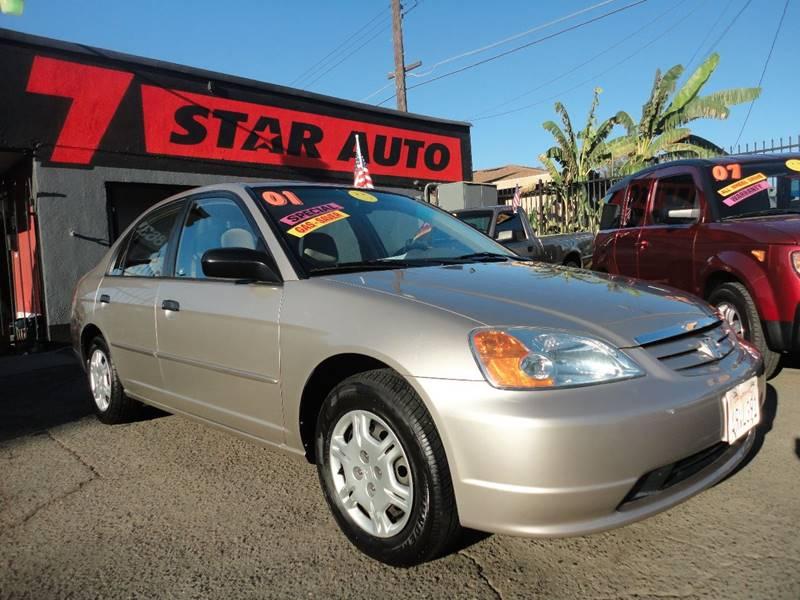 2001 Honda Civic Lx 4dr Sedan In Sacramento Ca 7 Star Auto