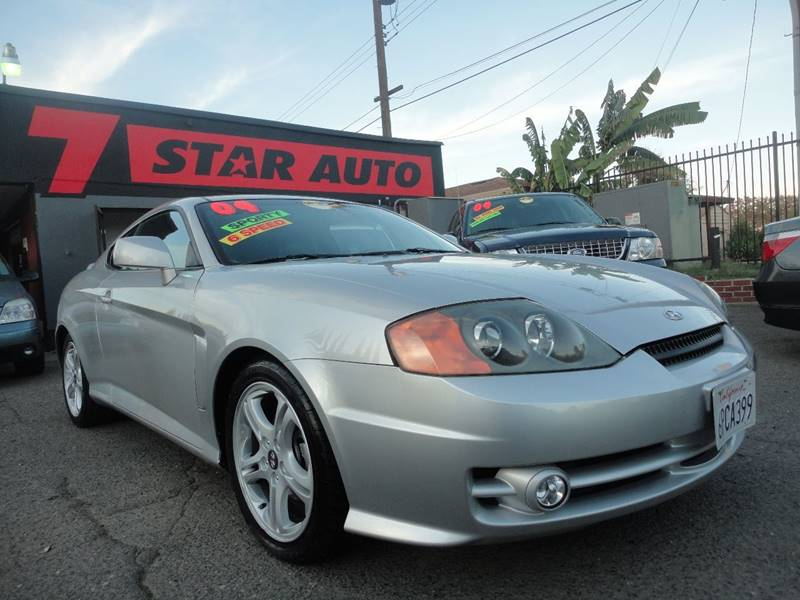 2004 Hyundai Tiburon GT V6 Special Edition 2dr Coupe   Sacramento CA