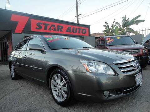 2007 Toyota Avalon for sale at 7 STAR AUTO in Sacramento CA