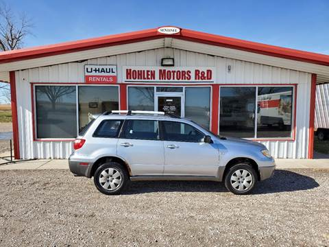 2005 Mitsubishi Outlander for sale in Hastings, NE