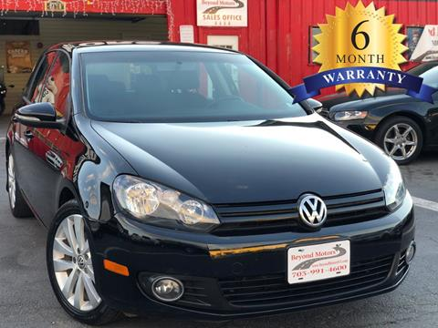 2012 Volkswagen Golf for sale in Manassas, VA