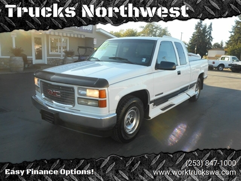 1997 GMC Sierra 2500 for sale in Spanaway, WA