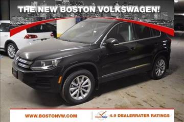 2017 Volkswagen Tiguan for sale in Allston, MA