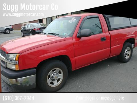 2004 Chevrolet Silverado 1500 for sale at Sugg Motorcar Co in Boyertown PA