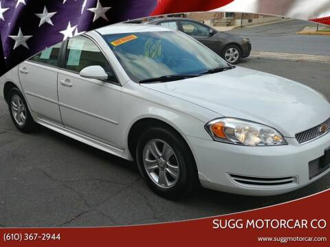 2014 Chevrolet Impala Limited for sale at Sugg Motorcar Co in Boyertown PA
