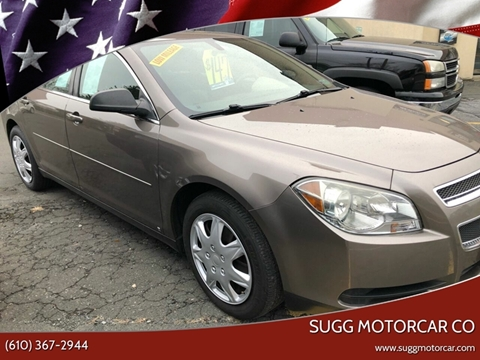 2010 Chevrolet Malibu for sale at Sugg Motorcar Co in Boyertown PA