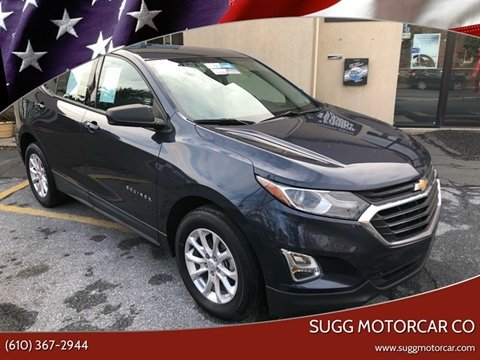 2018 Chevrolet Equinox for sale at Sugg Motorcar Co in Boyertown PA