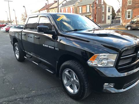 2012 RAM Ram Pickup 1500 for sale at Sugg Motorcar Co in Boyertown PA