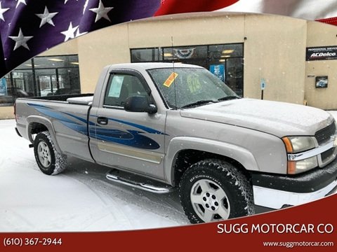 2005 Chevrolet Silverado 1500 for sale at Sugg Motorcar Co in Boyertown PA