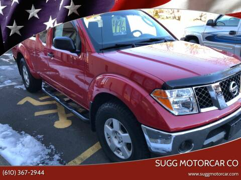 2005 Nissan Frontier for sale at Sugg Motorcar Co in Boyertown PA