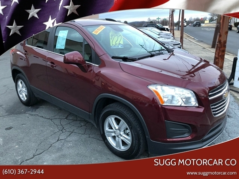 2016 Chevrolet Trax for sale at Sugg Motorcar Co in Boyertown PA