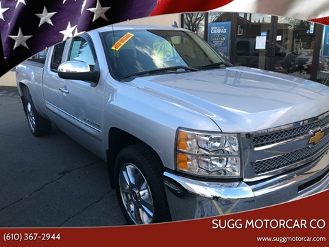 2012 Chevrolet Silverado 1500 for sale at Sugg Motorcar Co in Boyertown PA