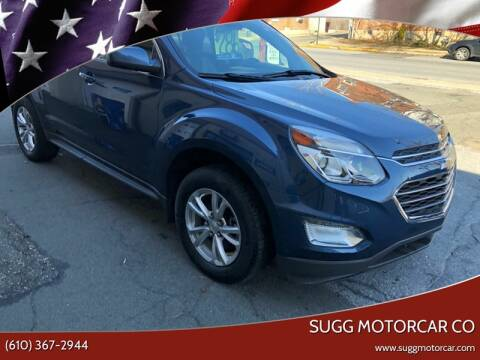 2017 Chevrolet Equinox for sale at Sugg Motorcar Co in Boyertown PA
