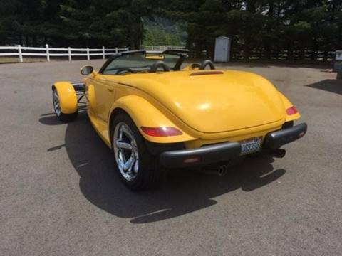 2000 Plymouth Prowler for sale at Sugg Motorcar Co in Boyertown PA