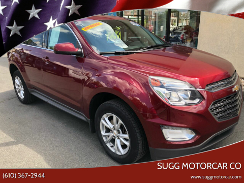 2016 Chevrolet Equinox for sale at Sugg Motorcar Co in Boyertown PA