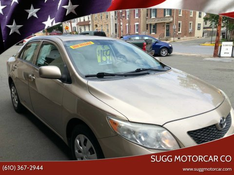 2009 Toyota Corolla for sale at Sugg Motorcar Co in Boyertown PA