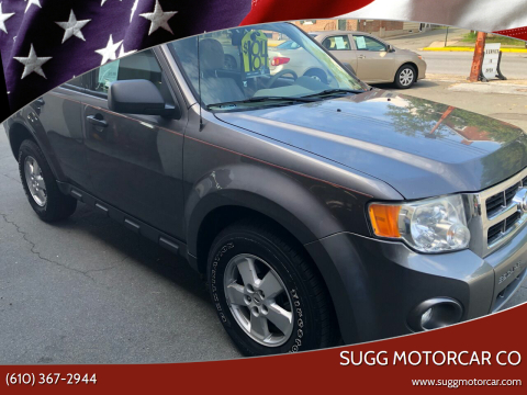 2010 Ford Escape for sale at Sugg Motorcar Co in Boyertown PA