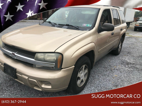 2006 Chevrolet TrailBlazer for sale at Sugg Motorcar Co in Boyertown PA