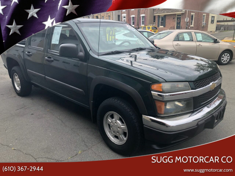 2005 Chevrolet Colorado for sale at Sugg Motorcar Co in Boyertown PA