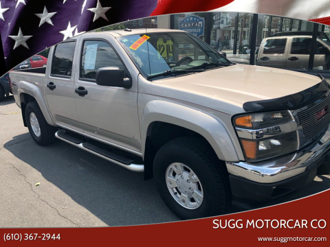 2006 GMC Canyon for sale at Sugg Motorcar Co in Boyertown PA