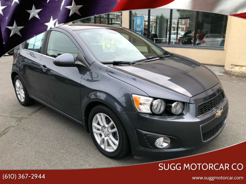 2012 Chevrolet Sonic for sale at Sugg Motorcar Co in Boyertown PA