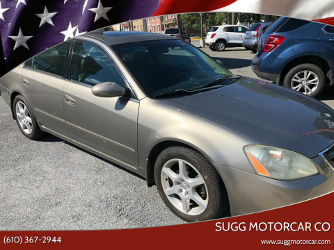 2003 Nissan Altima for sale at Sugg Motorcar Co in Boyertown PA