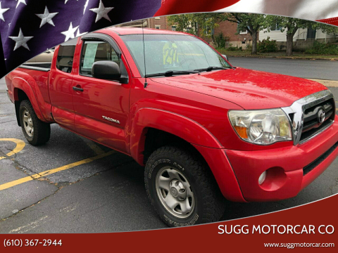 2007 Toyota Tacoma for sale at Sugg Motorcar Co in Boyertown PA