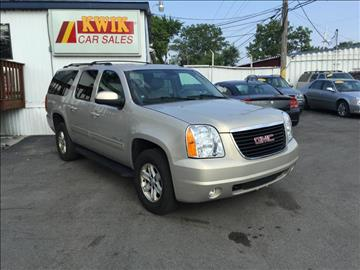 2010 GMC Yukon XL for sale at Kwik Car Sales in Robbins IL