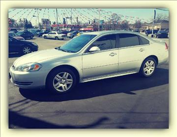 2008 Chevrolet Impala for sale at Kwik Car Sales in Robbins IL