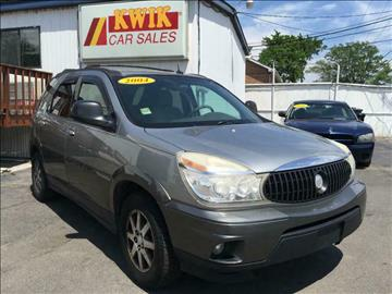 2004 Buick Rendezvous for sale at Kwik Car Sales in Robbins IL