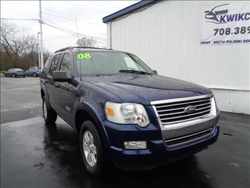2008 Ford Explorer for sale at Kwik Car Sales in Robbins IL