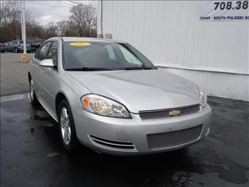 2012 Chevrolet Impala for sale at Kwik Car Sales in Robbins IL