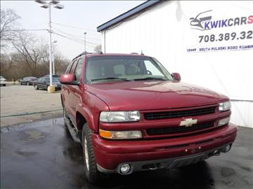 2005 Chevrolet Suburban for sale at Kwik Car Sales in Robbins IL