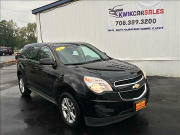 2011 Chevrolet Equinox for sale at Kwik Car Sales in Robbins IL