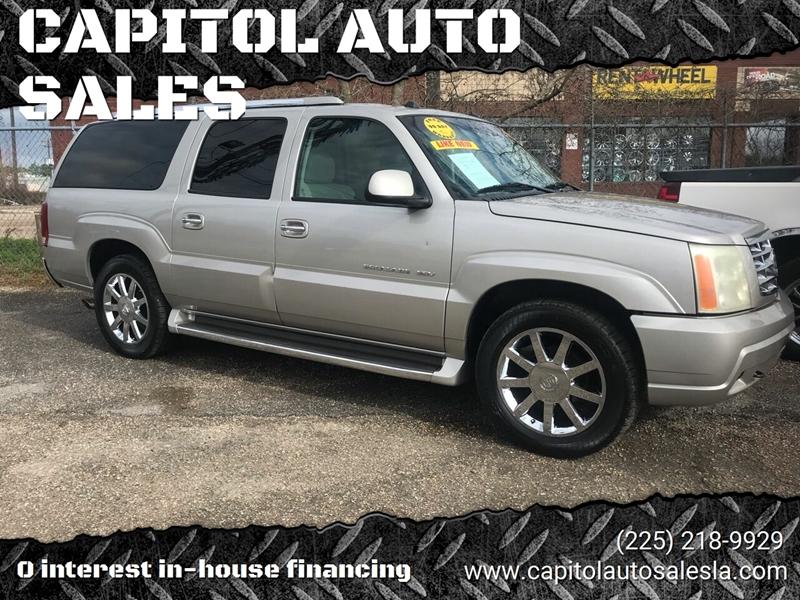 Capitol Auto Sales Used Cars Baton Rouge La Dealer
